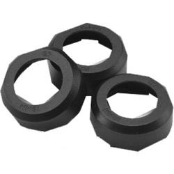 Sicherungskappe 22 mm schwarz