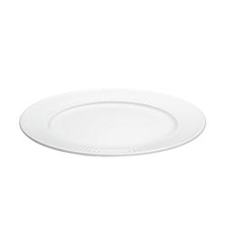Pillivuyt Plissé Teller flach Ø 22 cm Weiß
