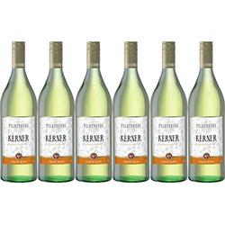Falkenburg Kerner Weißwein Trocken mit muskatähnlichem Bukett 1000ml 6er Pack