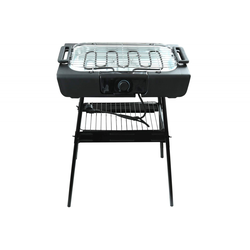 Kynast 2in1 Tischgrill Standgrill elektrisch 2000 W schwarz