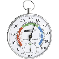 TFA Dostmann 45.2027 Thermo-/Hygrometer Silber
