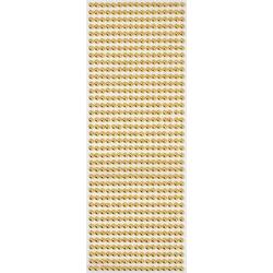 VBS Bastelperlen Halbperlen, Ø 5 mm, 646 Stück goldfarben