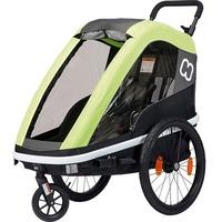 Hamax Fahrradkindersitz Fahrradanhänger AVENIDA One (incl. stroller wheel) New: suspension lime
