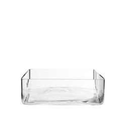 BUTLERS Dekovase POOL Glasschale Höhe 8 cm