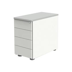 KERKMANN Container, Rollcontainer Move 1 mit 4 Schubladen und Zentralverschluss