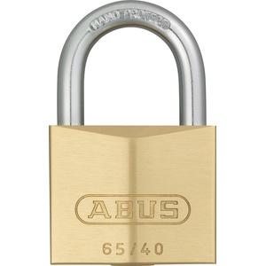 ABUS - 65/40 40mm Messing Vorhängeschloss Gleichschließend 404 - ABUKA03899