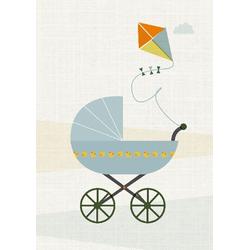 Postkarte Baby Luft (VE8)