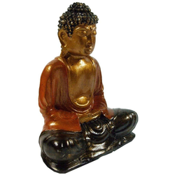 Guru-Shop Buddhafigur Recin Buddha rot - Modell 3 18 cm