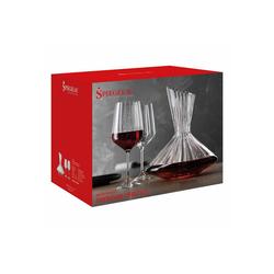 SPIEGELAU Gläser-Set Lifestyle Dekantierset 2 Rotweingläser + 1 Dekanter, Glas
