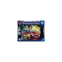 Ravensburger Puzzle Puzzle, 100 Teile XXL, 49x36 cm, Disney Cars Neon, Puzzleteile