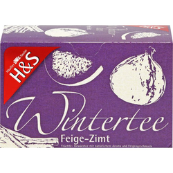 H&S Wintertee Feige-Zimt Filterbeutel 40 g