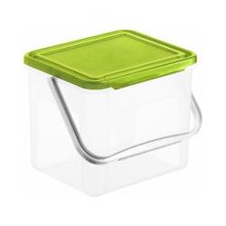 Rotho Waschmittelbehälter Basic grün 4,5 l / 3 kg