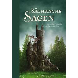 Sächsische Sagen als Buch von