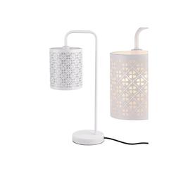 lux.pro Tischleuchte, Moderne Tischlampe in weiß