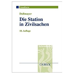Die Station in Zivilsachen. Tobias Dallmayer  - Buch