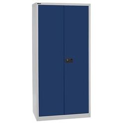 BISLEY Stahlschrank blau/grau