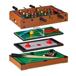 relaxdays Multigame-Spieletisch
