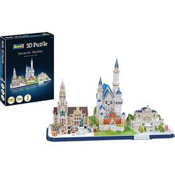 Revell® 3D-Puzzle 3D-Puzzle Bayern Skyline, Puzzleteile