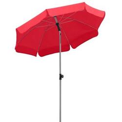 Schneider Sonnenschirm Locarno rot, Ø 150 cm