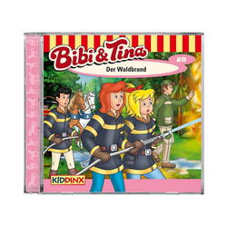Kiddinx Hörspiel CD Bibi & Tina - Der Waldbrand (80)