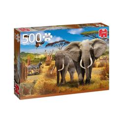 Jumbo Spiele Puzzle Puzzles bis 500 Teile JUMBO-18802, Puzzleteile