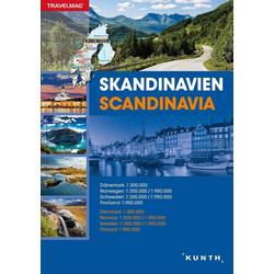 Reiseatlas Skandinavien: Buch von