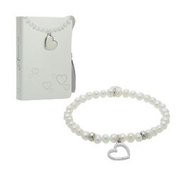 Perlenarmband - Herz