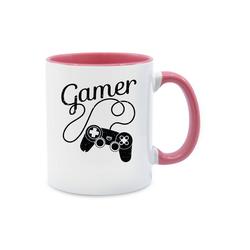 Shirtracer Tasse Gamer Motiv mit Controller - schwarz - Nerds & Geeks - Tasse zweifarbig - Tassen, tasse gamer