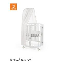 STOKKE® Sleepi™ Mini weiß inkl. Himmel und Matratze