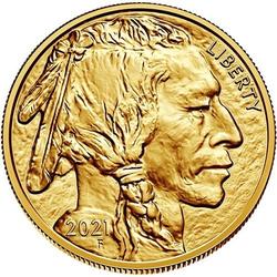 1 Unze Gold American Buffalo 2021