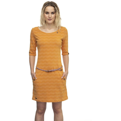 Kleid RAGWEAR - Tanya Zig Zag Curry (CURRY) Größe: S