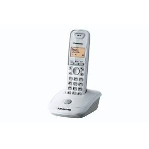 Panasonic KX-TG2511PDW - DECT - Tisch/Bank - Weiß - Mobilteil - LCD - Orange (KX-TG2511PDW)