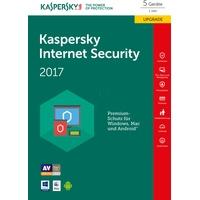 Kaspersky Lab Internet Security 2017 UPG 3 Geräte FFP DE Win Mac Android