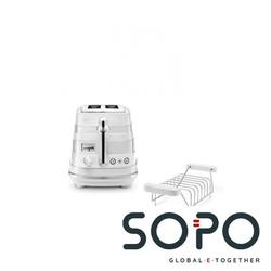 DeLonghi CTA 2103 1Scheibe(n) 900W Weiß Toaster