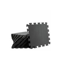 LOMOS Puzzlematte LOMOS Sport Puzzlematten-Sets in schwarz, Puzzleteile