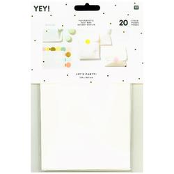 Flachbeutel Kraftpapier Weiß Größe S
