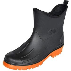 Herren Regenstiefel Peter von Dry Walk (42, schwarz-orange)