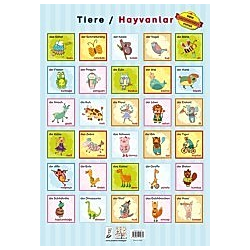 Tiere / Hayvanlar  Poster