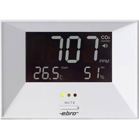 ebro RM 100 Kohlendioxid-Messgerät 0 - 3000 ppm mit Temperaturmessfunktion