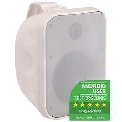 Pronomic OLS-5 WH Outdoor-Lautsprecher weiß 80 Watt