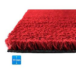 Fußmatte PALMERAS Kokos Rot Kokosfaser, Vinyl 17 mm 400 x 600 mm
