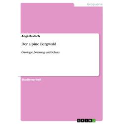Der alpine Bergwald als Buch von Anja Budich