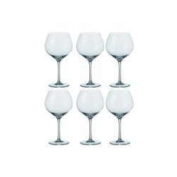 LEONARDO Rotweinglas Burgunder Glas, 6er-Set Ciao+ (6-tlg)