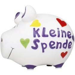 KCG 101446 Kleine Spende Spardose Schwein klein weiß