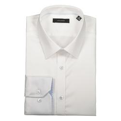 Lavard Weißes Herren-Hemd 91092