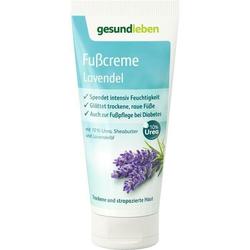 gesund leben Fußcreme Lavendel