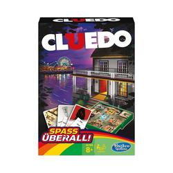 Hasbro Spiel, Cluedo Kompakt