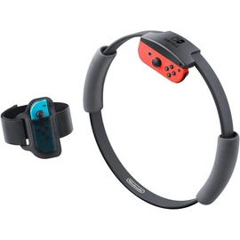 Nintendo Switch neon-rot/neon-blau + Ring Fit Adventure