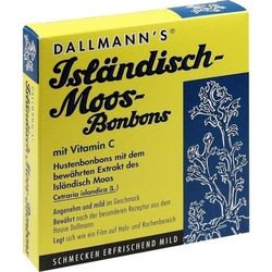 DALLMANN'S Isländisch Moos Bonbons 20 St