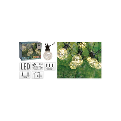 HTI-Living LED-Lichterkette LED Beleuchtung LED Beleuchtung 50 LED, 10-flammig